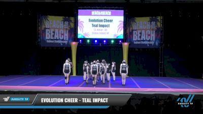 Evolution Cheer - Teal Impact [2021 L5 Junior - D2 Day 2] 2021 ACDA: Reach The Beach Nationals