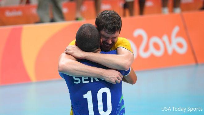 Brazil Grabs Men's Volleyball Gold