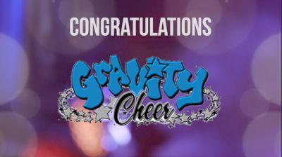 Congratulations, Gravity Cheer!
