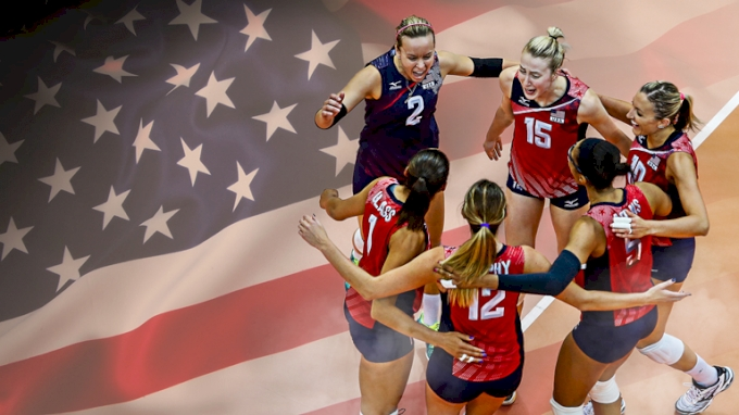 picture of All In: USA Women's National Volleyball Team