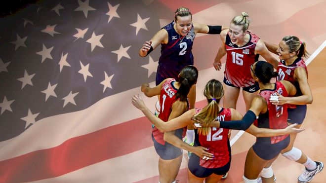 All In: USA Women's National Volleyball Team