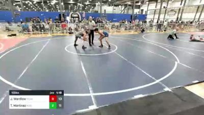 130 lbs Rr Rnd 3 - Romeo Nunez, Team Gotcha Blue vs Aiden Schoen, Missouri Avengers