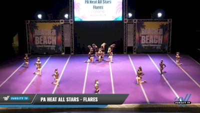 PA Heat All Stars - Flares [2021 L1 Junior - D2 Day 1] 2021 ACDA: Reach The Beach Nationals