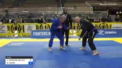 DAVID FRECH vs CLIFTON RAYBURN DALLEY 2020 World Master IBJJF Jiu-Jitsu Championship