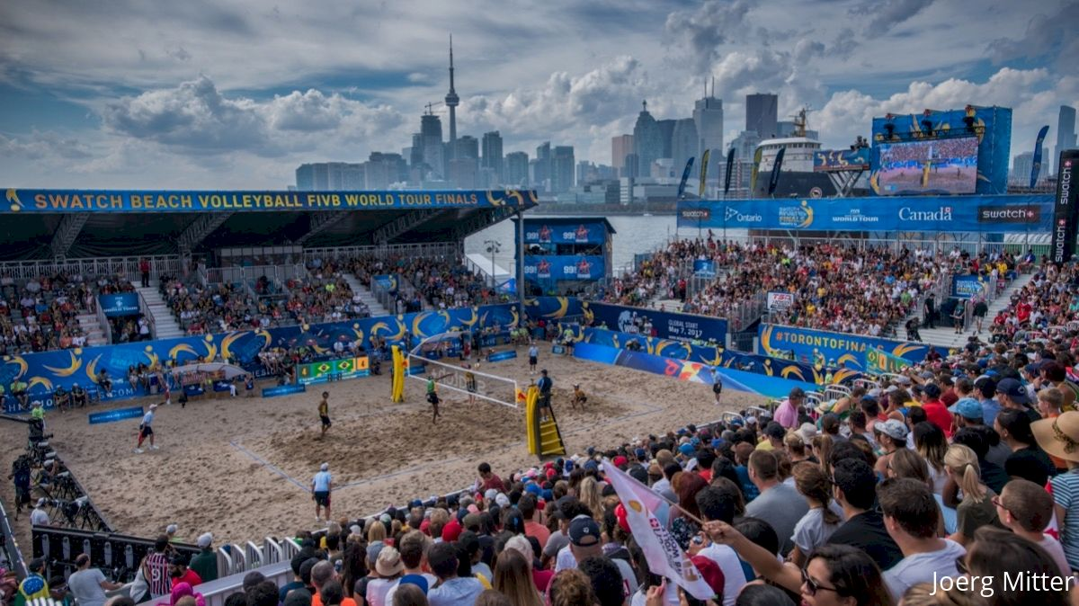 Top 4 Moments from the Swatch Beach Volleyball World Tour Finals