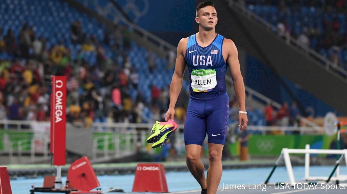 Devon Allen Suffers Another Knee Injury, May Be Out For The Season