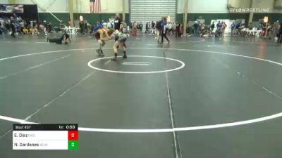 108 lbs Consolation - Ethan Diaz, Eaglecrest High School vs Nick Dardanes, Bear Cave