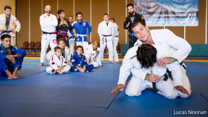 Roger Gracie Teaches Attacking The Turtle