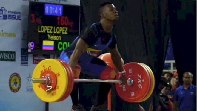 Yeison Lopez (COL) Wins Gold and Sets New World Records At Youth Worlds