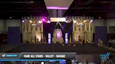 FAME All Stars - Valley - SAVAGE [2021 L5 Junior Day 1] 2021 Queen of the Nile: Richmond