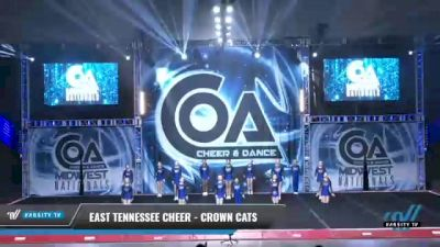 East Tennessee Cheer - Crown Cats [2021 L1 Youth - D2 Day 2] 2021 COA: Midwest National Championship