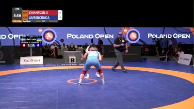 65 kg Gold - Henna Johansson, SWE vs Anastasiia Lavrenchuk, UKR