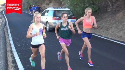 Workout Wednesday: Brenna Peloquin and the Boise State Men Hill Repeats