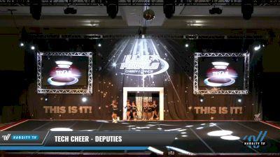 Tech Cheer - Deputies [2021 L1 Youth - Novice 2] 2021 The U.S. Finals: Grapevine