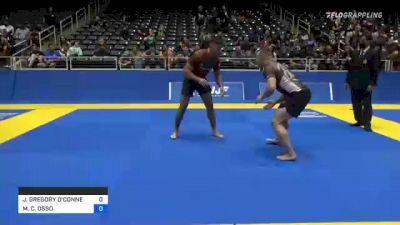 JONATHAN GREGORY O'CONNELL vs MICHELE C. OSSO 2021 World IBJJF Jiu-Jitsu No-Gi Championship