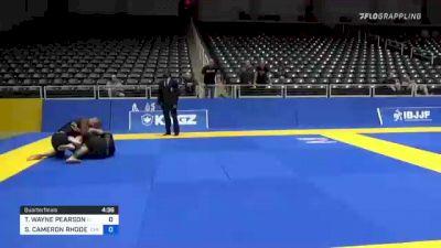 TIMOTHY WAYNE PEARSON vs STEVEN CAMERON RHODES 2021 World IBJJF Jiu-Jitsu No-Gi Championship
