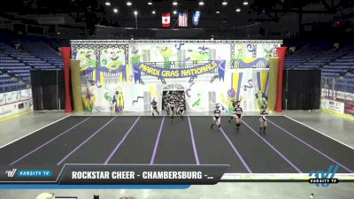 Rockstar Cheer - Chambersburg - Gym Class Heroes [2021 L4 International Open Coed] 2021 MG Bead Blast