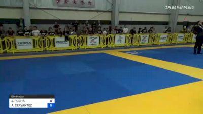 JASMINE ROCHA vs ALEJANDRA CERVANTEZ 2021 Pan IBJJF Jiu-Jitsu No-Gi Championship