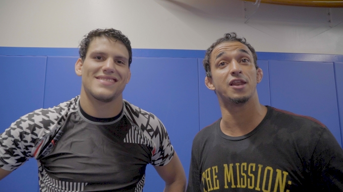 Pena Challenges Ryan To 20k Sub Only Gi Match