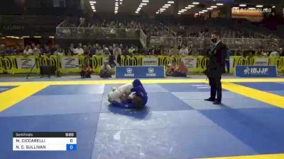MARGOT CICCARELLI vs NICOLE C. SULLIVAN 2021 Pan Jiu-Jitsu IBJJF Championship