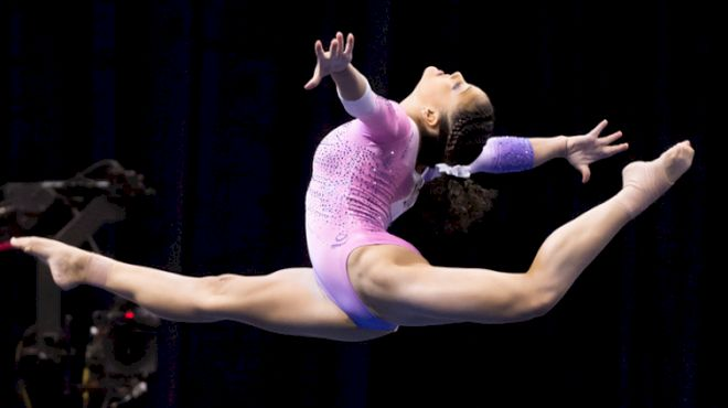 The Best Of Laurie Hernandez At US Championships