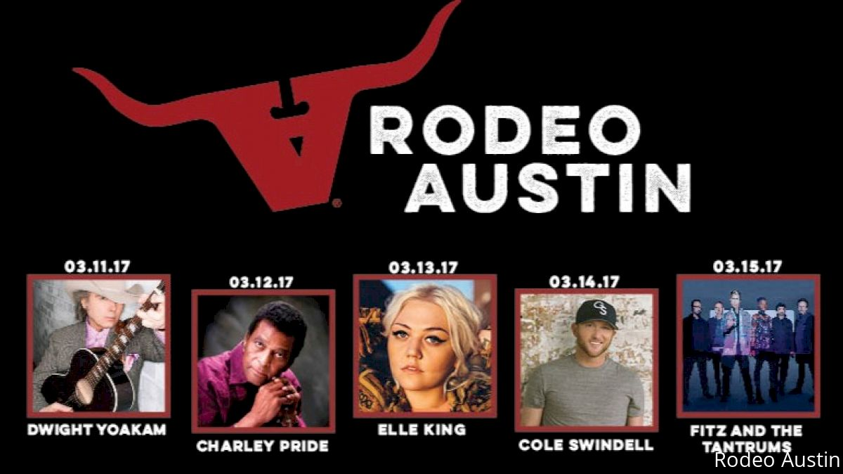 Rodeo Austin Releases Full Entertainment Lineup
