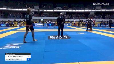 TODD MUECKENHEIM vs ADAM WARDZINSKI 2019 World IBJJF Jiu-Jitsu No-Gi Championship