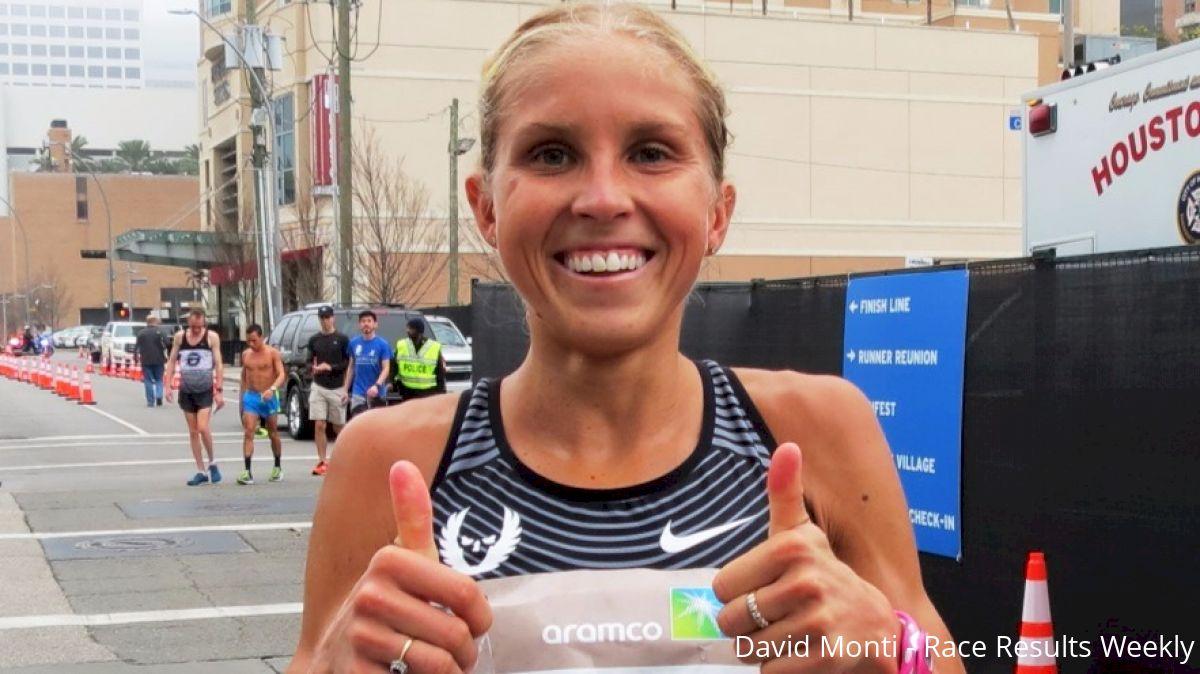 Jordan Hasay Impresses With 68:40 Half-Marathon Debut In Houston