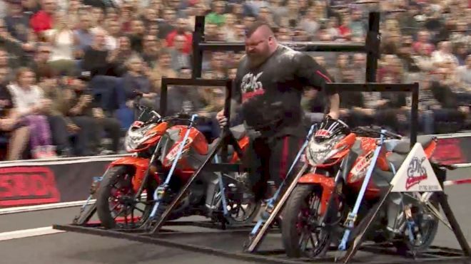 Eddie Hall's Training For Europe's Strongest Man Has Been Amazing