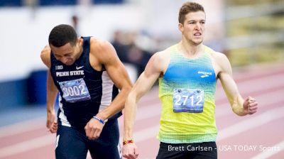 TASTY RACE: Cas Loxsom 600m world record, Isaiah Harris collegiate record