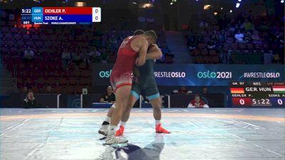 97 kg 1/4 Final - Peter Oehler, Germany vs Alex Szoke, Hungary