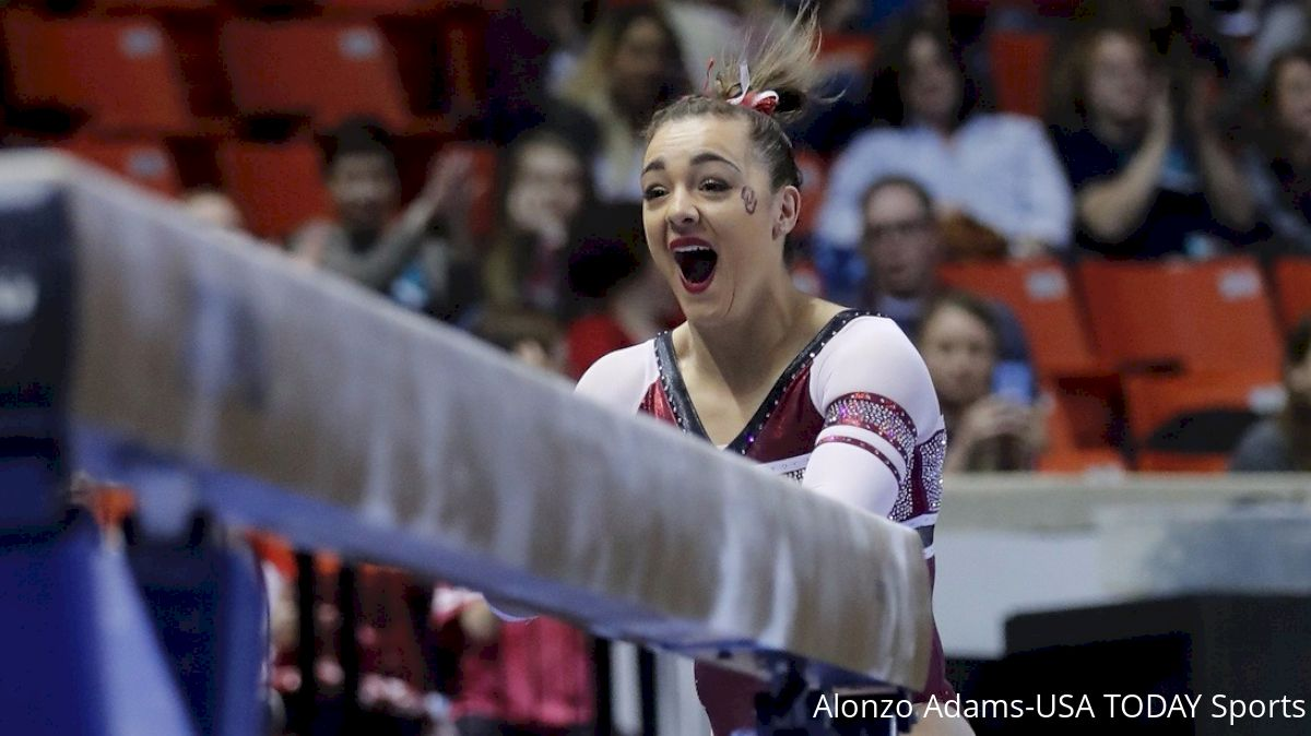 Maggie Nichols excited ncaa