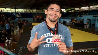 Mafra: 'Wrestling Was Key To ADCC Victory'