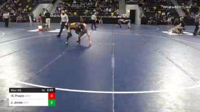 133 lbs Prelims - Robbie Precin, North Central College vs Joseph Jones, Averett University