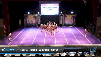 FAME All Stars - VA Beach - SIRENS [2021 L2 Senior Day 2] 2021 ACDA: Reach The Beach Nationals