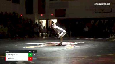 184 lbs Dual - Cody Mulligan, EDIN vs Tyler Dow, WISC