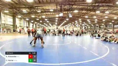 285 lbs Prelims - Antone Alexander, Indiana Smackdown vs Chase Horne, Minion Legends