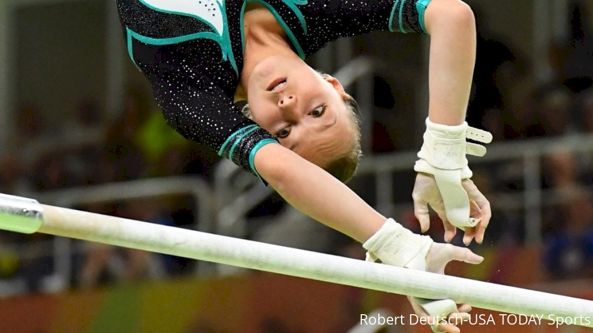 ece022f53bb4 New Rules For Breaking Ties. At the 2015 World Championships, the uneven  bars ...