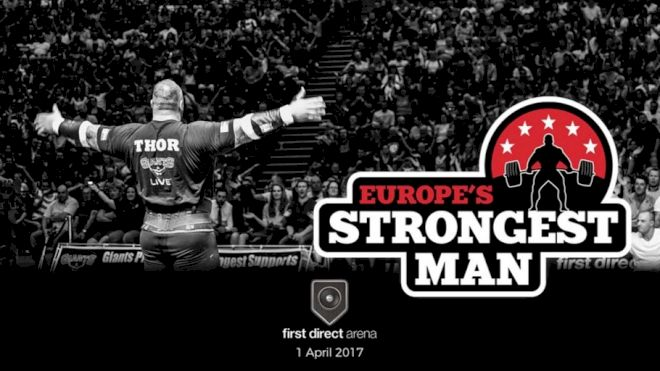 FloElite Live Streaming Europe's Strongest Man 2017