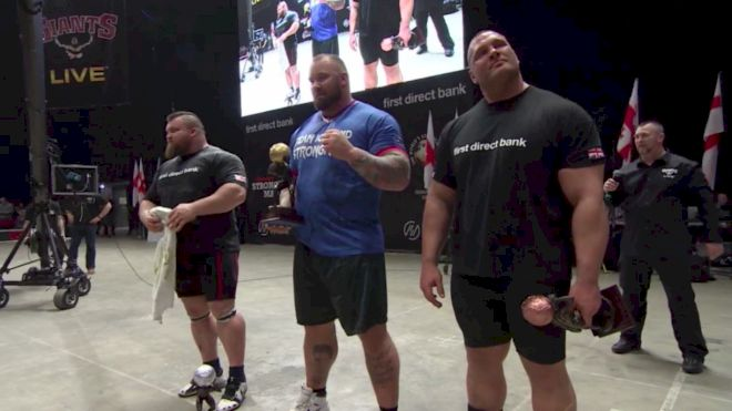 "Hafthor ""The Mountain"" Bjornsson Wins Europe's Strongest Man 2017!"