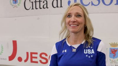 Kim Zmeskal Burdette On Emma Malabuyo Gaining Experience, Young Team USA, And Valeri Liukin Transition - 2017 City of Jesolo Trophy