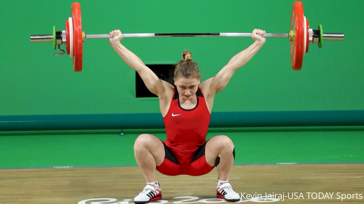 Rebeka Koha competes at Rio 2016