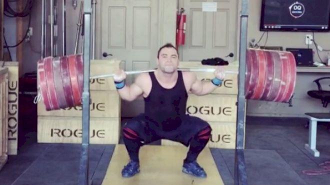 Vasily Polovnikov Squats 320kg For THREE!