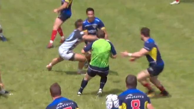 Throwback Thursday: USA Rugby Referee Gets Folded