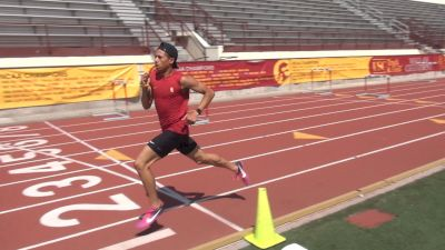Workout Wednesday: USC's 800m Star Robert Ford