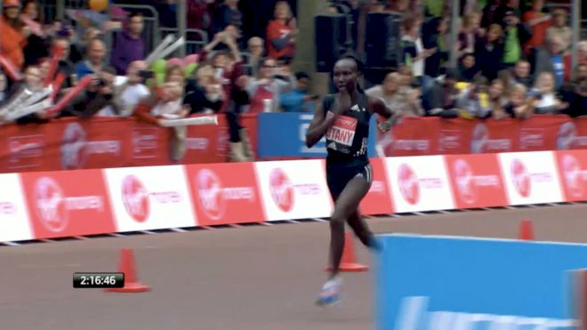 Mary Keitany Runs 2:17:01 In London For A New Women's-Only World Record