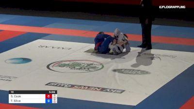Samantha Cook vs Thamara Silva Abu Dhabi World Professional Jiu-Jitsu Championship
