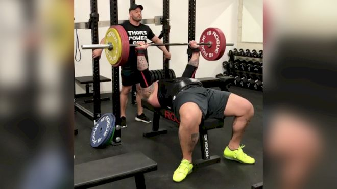 "Hafthor ""The Mountain"" Bjornsson's World's Strongest Man Training Is Sick"