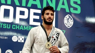 Servio Tulio Wins $1k Brown Belt Absolute Bracket