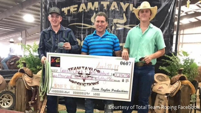 Total Team Roping Brings Young Talent To Las Vegas